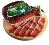 South Tyrolean bacon Senfter G.G.A. 1/4 approx. 1.1 kg.