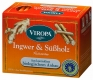 Ginger & Licorice tea organic 15 tea bags - Viropa
