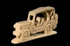 Jeep 3D-Puzzle in natural wood - Dolfi