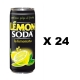 Lemonsoda 24 can x 330 ml. - Terme di Crodo Aperitivo Lemon Soda