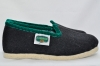 Slipper High Black/Dark Green Size 44 - Alpenecke